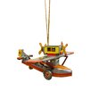 Alexander Taron Tin Seaplane Ornament