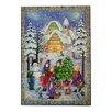 Alexander Taron Sellmer Outdoor Winter Scene Advent Calendar