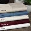 Aspire Linens Pin-Stripe 620 Thread Count Egyptian Cotton Sateen Sheet Set