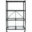 "Origami R5 Foldable Metal 61"" H Shelving Unit"