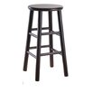 "<strong>Winsome</strong> Espresso 24"" Bar Stool (Set of 2)"