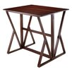 Winsome Harrington Counter Height Extendable Dining Table