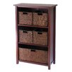 <strong>Milan Storage Shelf and Baskets</strong> by Winsome