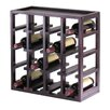 Winsome Kingston 16 Bottle Wine Rack