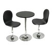 <strong>Winsome</strong> Spectrum 3 Piece Dining Set
