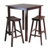 <strong>Parkland 3 Piece Pub Table Set</strong> by Winsome