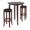 <strong>Winsome</strong> Fiona 3 Piece Pub Table Set
