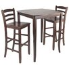 <strong>Winsome</strong> Inglewood 3 Piece Counter Height Pub Table Set