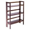 """<strong>Basics Folding 38.5"""" Bookcase</strong> by Winsome"""