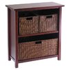 Winsome Milan 3 Basket Storage Shelf