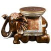 <strong>Bombay Heritage</strong> Bali Elephant End Table