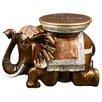 Bombay Heritage Bali Elephant End Table