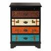 Bombay Heritage Globetrotter 4 Drawer Dresser