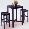 <strong>Contour 3 Piece Pub Table Set</strong> by Home Styles