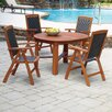 <strong>Home Styles</strong> Bali Hai 5 Piece Dining Set