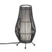 """Zingz & Thingz Metal Tiki Hut 9.25"""" H Table Lamp"""
