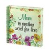 Zingz & Thingz Mom Floral Letter Block