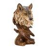 Zingz & Thingz Wild Wolf Art Bust