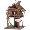 <strong>Zingz & Thingz</strong> Treehouse Decorative Bird Feeder