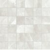 "Faber Classic High Definition 2"" x 2"" Porcelain Matte Tile in Ivory"