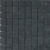 """Faber SGT 1.5"""" x 1.5"""" Porcelain Matte Mosaic in Carbon"""