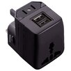 Symtek WorldPlug Dual USB Universal Travel Adapter and Charger
