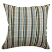 <strong>The Pillow Collection</strong> Octavia Stripes Cotton Pillow