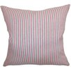 The Pillow Collection Debrah Stripes Cotton Pillow