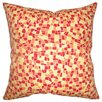 <strong>The Pillow Collection</strong> Bentlee Mosaic Tile Cotton Pillow