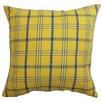 The Pillow Collection Varden Plaid Cotton Pillow