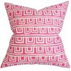 The Pillow Collection Xabrine Geometric Pillow