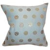 The Pillow Collection Calynda Dots Polyester Throw Pillow