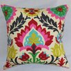 The Pillow Collection Tahsis Floral Throw Pillow