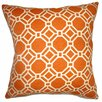 The Pillow Collection Cadena Chain Link Cotton Pillow