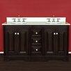"""Cambridge Plumbing Stella 60"""" Bathroom Vanity Set with Double Sink"""