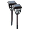 <strong>Nature Power</strong> Lifetime Series Solar Garden Lantern (Set of 2)