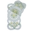 <strong>Xia Home Fashions</strong> Elegant Daisy Embroidered Cutwork Traycloth Runner (Set of 4)