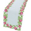 <strong>Strawberry Patch Table Runner</strong> by Xia Home Fashions