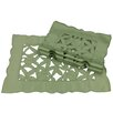 Xia Home Fashions Tulip Bouquet Placemat (Set of 4)