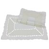 Xia Home Fashions Simply Divine Embroidered on Sheer Cutwork Placemat