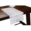 Xia Home Fashions Bordeaux Embroidered Cutwork Table Runner