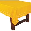 Xia Home Fashions Handmade Double Hemstitch Easy Care Tablecloth