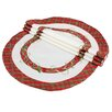 <strong>Tartan Ribbon Embroidered Holiday Placemat (Set of 4)</strong> by Xia Home Fashions