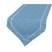 Xia Home Fashions Polka Dot Embroidered Easy Care Table Runner