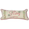 <strong>Xia Home Fashions</strong> Merry Christmas with Holly-8X18 Pillow