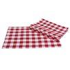 <strong>Xia Home Fashions</strong> Gingham Check Placemat and Napkin Set