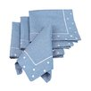 <strong>Xia Home Fashions</strong> Polka Dot Embroidered Easy Care Napkin (Set of 4)