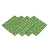 <strong>Polka Dot Embroidered Easy Care Coasters (Set of 4)</strong> by Xia Home Fashions