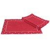 <strong>Xia Home Fashions</strong> Polka Dot Embroidered Easy Care Placemat (Set of 4)