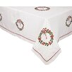 <strong>Xia Home Fashions</strong> Country Wreath Table Cloth